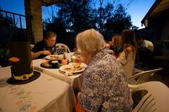 People Eating Thanksgiving Dinner