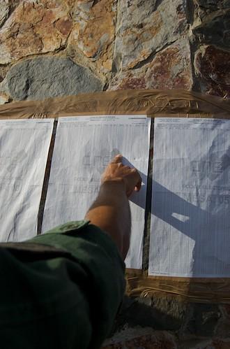Listas de electores. צילום: a-Andres. מתוך: flickr