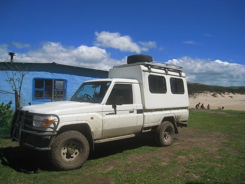 Bulungula's chariot awaits