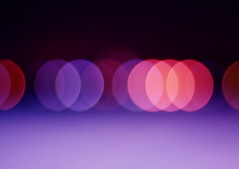 Beach bokeh (Dada Mar) Tags: pink abstract beautiful skyline night lights purple bokeh horizon row explore