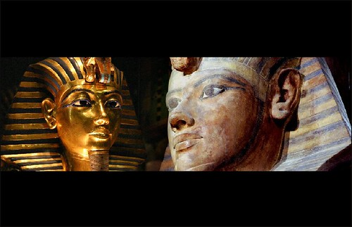 collage Tutankhamun por Hans Ollermann.