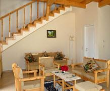 The lounge area in Villa Martha on Paxos by Sunisle Holidays