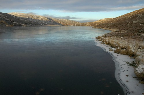 Frozen Loch Callater