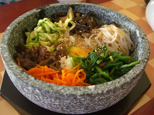 Korean Stone Rice - Bibimbap
