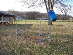 OH Syracuse - Playground 3 (scottamus) Tags: old ohio animal playground vintage monkey bars furniture equipment syracuse meigscounty