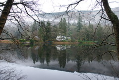 Loch Ard 6 (mag379) Tags: mist water scotland nikon loch ard aberfoyle lochard d80 httpwwwflickrcomphotostagsthebiggestgroup