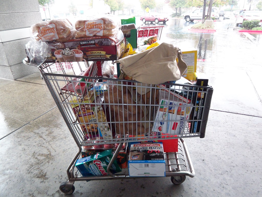 the world s best photos of groceries and grouphome flickr hive mind rainy day costco haul sarah b in sd tags cold wet rainyday sandiego