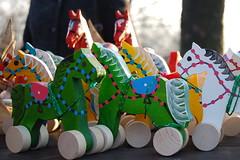 Wild horses... (Krzysztof Duda) Tags: wood horses toy skansen konie woodentoys zabawki drewno chorzw zabawka uppersilesia grnylsk drewnianekoniki