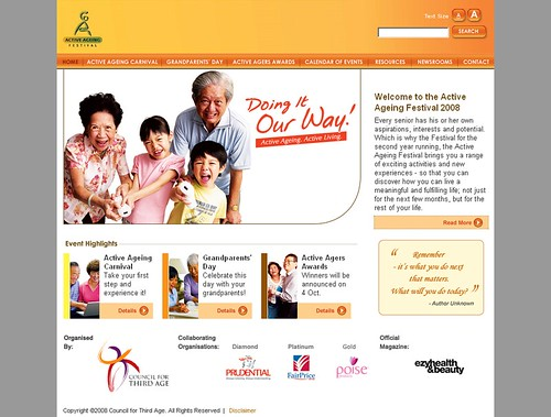 Active Ageing Festival (AAF)