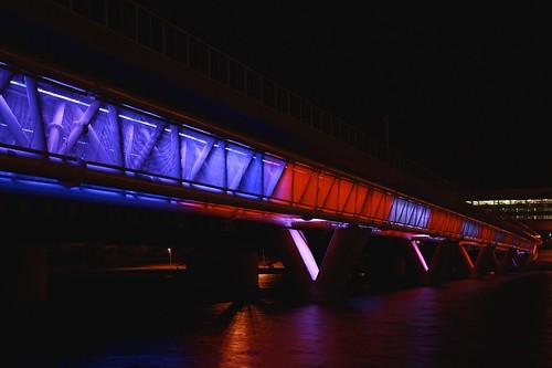 Tempe Town Lake Light Rail Bridge