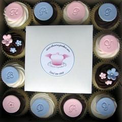 Elegant Birthday Cupcakes