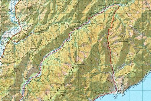 Map North