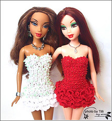 Dakota and Emilie (TilliBoo) Tags: chelsea madison custom mattel myscene shoppingspree myscenemadison matteldoll ilovemyfriend myscenechelsea custommyscene