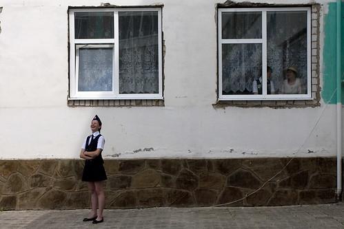 A student of Cossak Cadet Corps in Belaya Kalitva, Rostov region