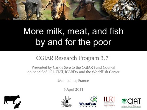 CGIAR Research Program 3.7 on livestock and fish