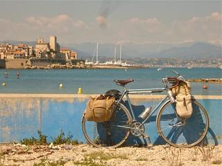 Bike, Mediterranean, Alps