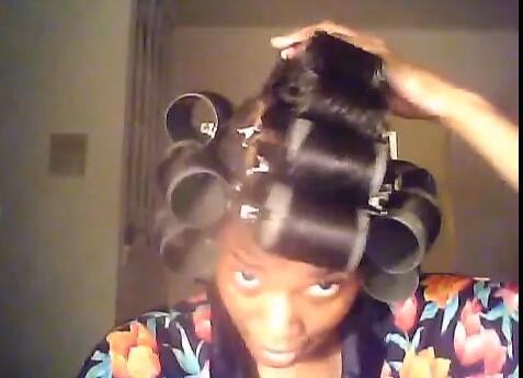 jumbo magnetic rollers, wet rollerset