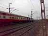 Rajdhani Express (kshitijwap4) Tags: trains nagpur indianrailways irfca