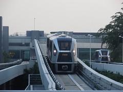 Skytrain in Changi airport (wamu8) Tags: airport singapore changi skytrain シンガポール 海外 特殊軌道