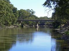 Newell Highway bridge over Murrumbidgee River at Narrandera NSW (antster) Tags: bridge water river lumix highway australia panasonic nsw newell dmc narrandera murrumbidgee riverina fz7