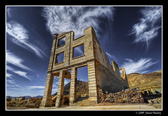 Lost Dreams (James Neeley) Tags: landscape bravo ghosttown deathvalley rhyolite hdr 5xp aplusphoto jamesneeley