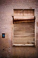 Blue heart (LukeOlsen) Tags: door blue usa oregon portland bay heart garage loadingdock rollup garagedoor cardioid blueheart lukeolsen