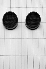Abstract air vents
