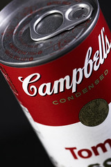 Campbell's (Skin of skin) Tags: red campbells