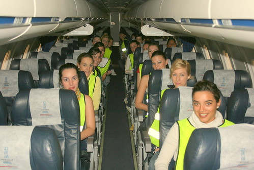 Cabin Crew Girls Air Nostrum Cabin Crew