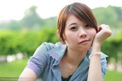 Cheryl (valiant ho) Tags: park portrait cute beauty lady female canon asian eos asians portraiture cheryl canonef50mmf14usm outdoorphotography 400d rebelxti valiantho