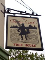 Charles Lamb, Islington, N1 (Ewan-M) Tags: england london islington n1 pubsigns londonboroughofislington charleslamb freehouse thecharleslamb eliastreet thecharleslambfreehouse charleslambfreehouse