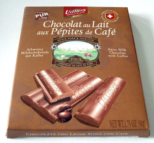 Villars Milk chocolate with coffee