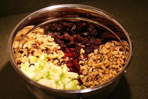 Quinoa Salad (prep)