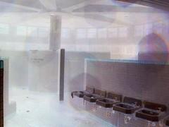 GHOST POOL (It's The Internet Ghost!!!) Tags: old pool university alabama inside picnik swiming poool