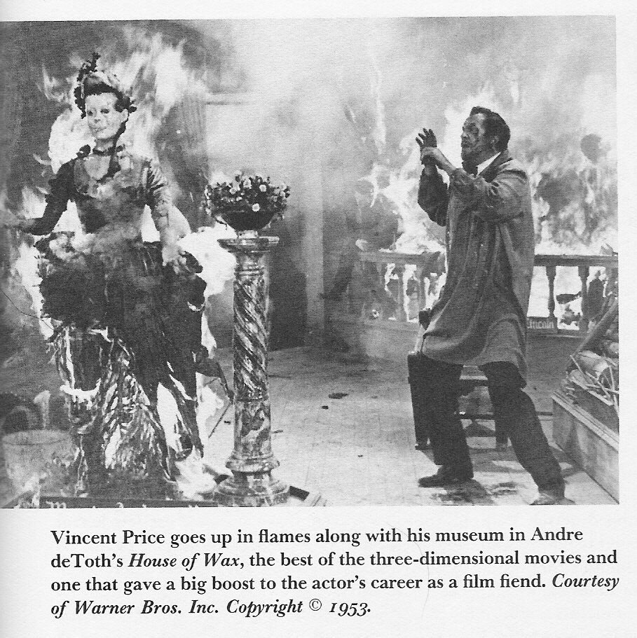 Vincent Price as Prof. Henry Jarrod