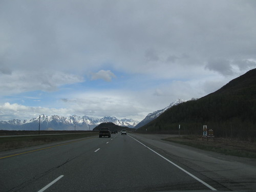 On the way to Palmer, Alaska