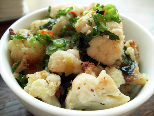 cauliflower @ momofuku ssam