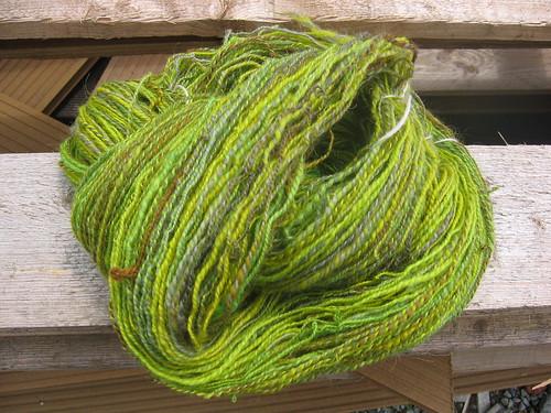 Handspun Yarn - Verdant