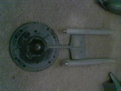 trek style ship in progress (casio_beatnik) Tags: startrek spaceship enterprise kitbash nacelles