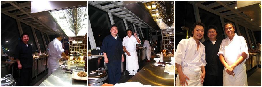 Takumi Tokyo's Chefs