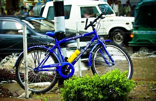 Wie wil bellen moet zijn fiets voortaan even laten staan...