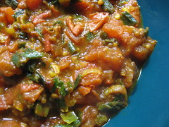Tomato and Spring Onion Curry