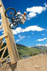 Wall Ride (DEARTH !) Tags: mountains color sports bike wall delete10 delete9 delete5 delete2 jump colorado ride delete6 delete7 mountainbike save3 bikes delete8 delete3 delete delete4 save save2 dirt save4 vail saturation delete11 wallride teva dirtjump dearth tevamountaingames bicycly strobist