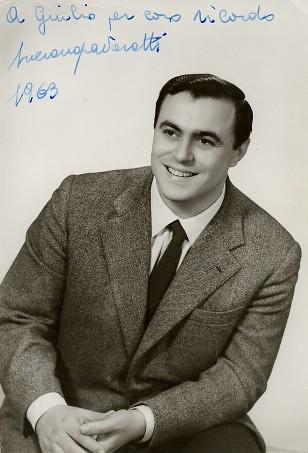 Luciano Pavarotti in 1963