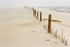 Fence 2 (Lissa**) Tags: film beach top20np maryland expired assateague pentaxzx7