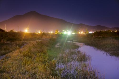 Mount Tamalpais from Corte Madera Creek