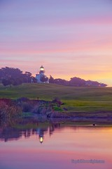 Point Pinos Lighthouse - Monterey California (Darvin Atkeson) Tags: ocean california desktop light sunset sea wallpaper portrait usa lighthouse house color reflection beach nature america golf army outdoors bay us monterey nikon lighthouses photographer pacific d70 screensaver grove outdoor scenic montereybay course size pines carmel ft cypress pinos peninsula ord  navigation naturephotography    darvin  californialighthouse wallpapersize outdoorphotography californialighthouses  atkeson californiaphotography outdoorphotographer  darv californiaphotographer   liquidmoonlightcom liquidmoonlight darvinatkeson