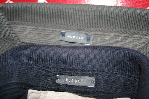 Comparison of 'muscle' labels
