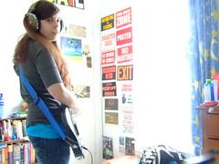 sarah and guitar