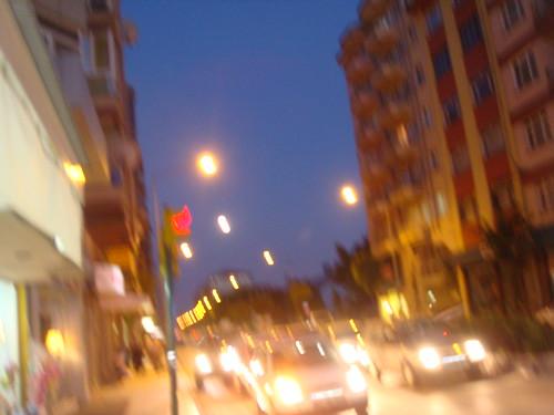 ışıltılı gecelern içinde